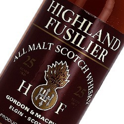 Highland Fusilier Gordon and Macphail 25 ans