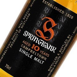 Springbank Officiel 10 ans