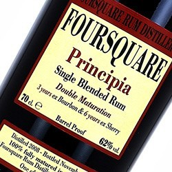 FOURSQUARE PRINCIPIA Single Blended Rum Double Maturation