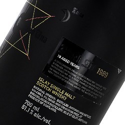 Bruichladdich Officiel Black Art 22 ans 1989