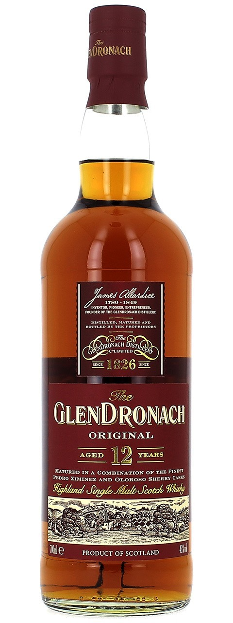 Glendronach Officiel 12 ans