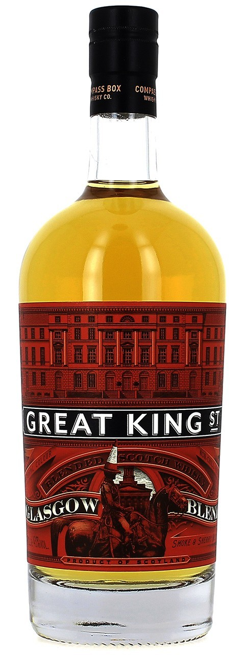 Great King Street Glasgow blend Compass Box