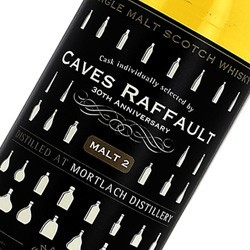 Cask individually selected by Caves Raffault 30TH ANNIVERSARY Malt 2 48% vol