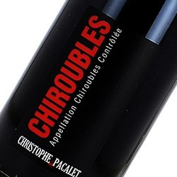 Domaine Christophe Pacalet Chiroubles 2017