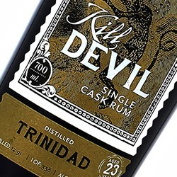 KILL DEVIL Trinidad Single Cask Rum 23 years