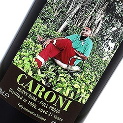 "CARONI Heavy Rum - Full Proof Special Edition 2nd Release Kevon ""Slippery"" Moreno"