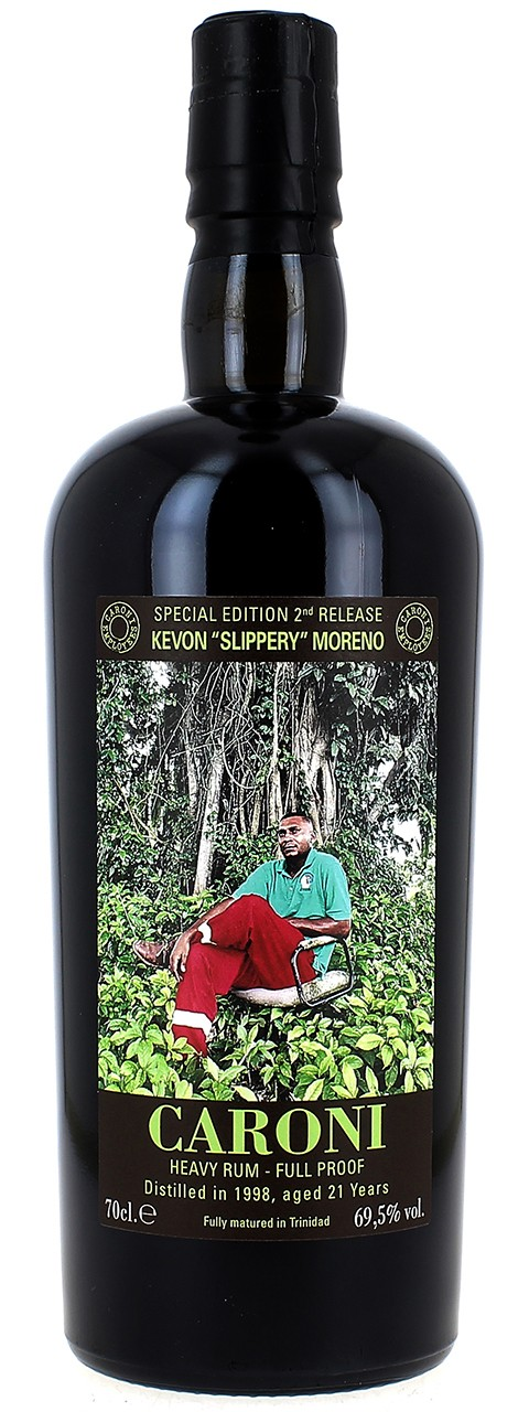 """CARONI Heavy Rum - Full Proof Special Edition 2nd Release Kevon """"Slippery"""" Moreno"""