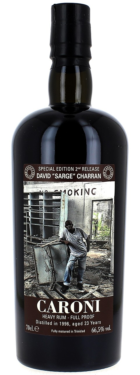 "CARONI Heavy Rum - Full Proof Special Edition 2nd Release David ""Sarge"" Charran"