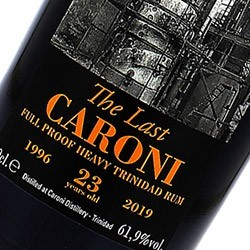 CARONI CARONI The Last 39th Release Guyana Stock - Double Maturation