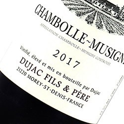 DUJAC Fils & Père Chambolle Musigny 2017