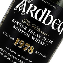 ARDBEG Officiel ISLAY 1978